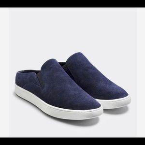 VINCE VERRELL slide sneakers slip on in DEEP BLUE